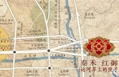 泰禾·中国院子位置图