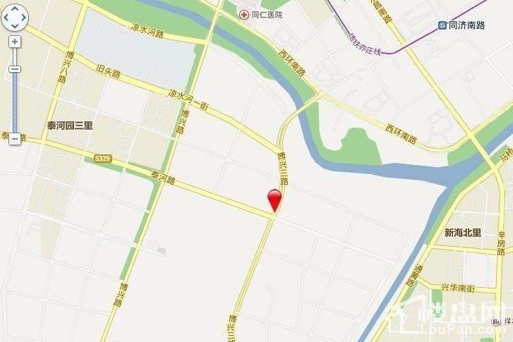 北京城建海梓府位置图