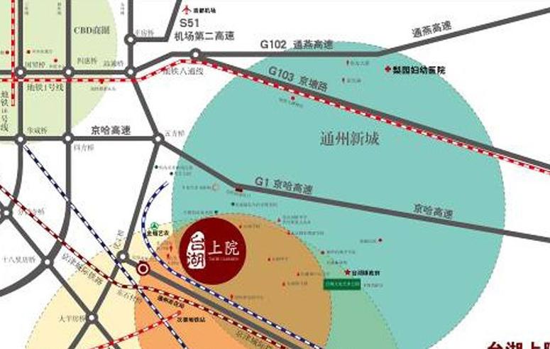 台铭国际企业花园位置图