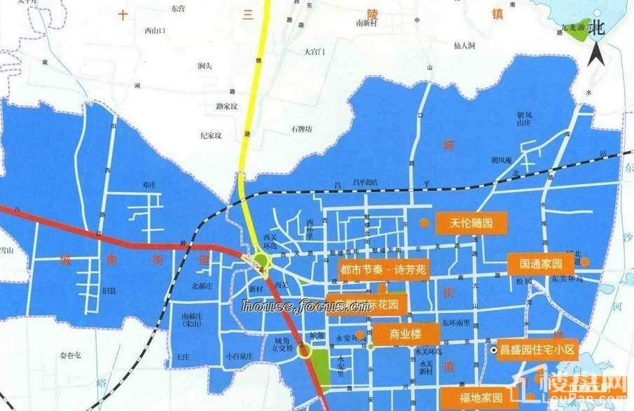 香江别墅位置图