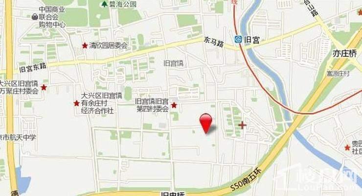 东亚·五环国际位置图