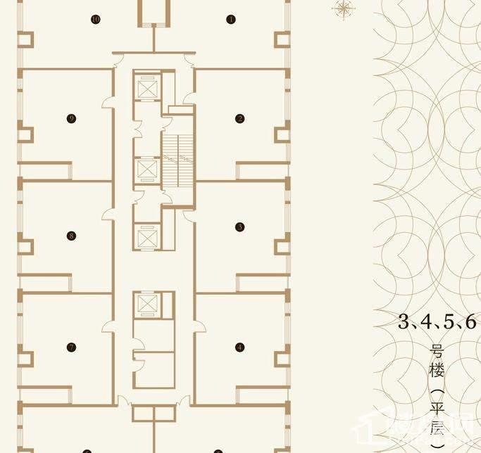 东亚·五环国际户型图