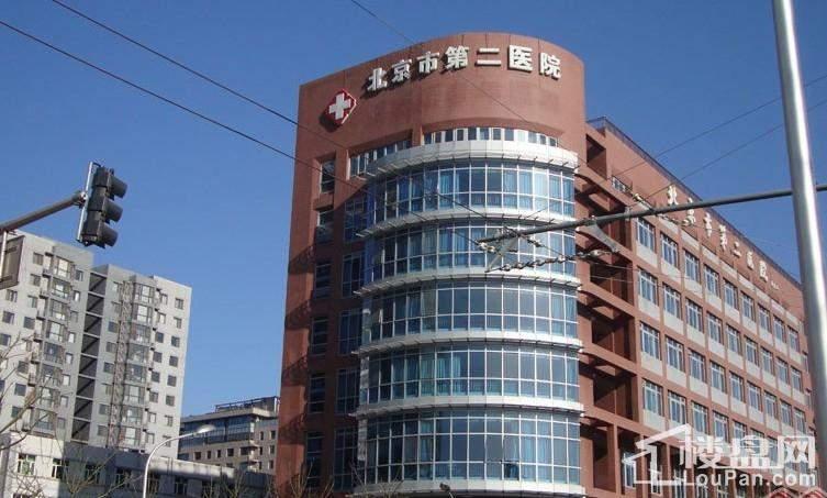 西单上国阙周边配套之北京市第二医院