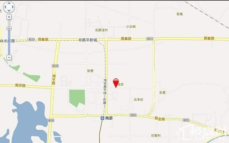 北京风景位置图