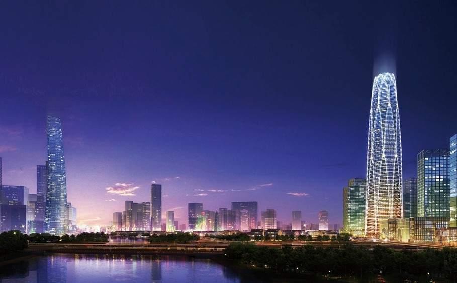 华业新北京中心效果图