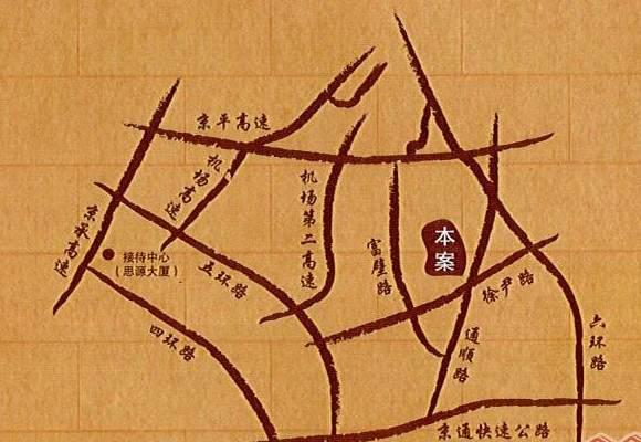 首开香溪郡位置图