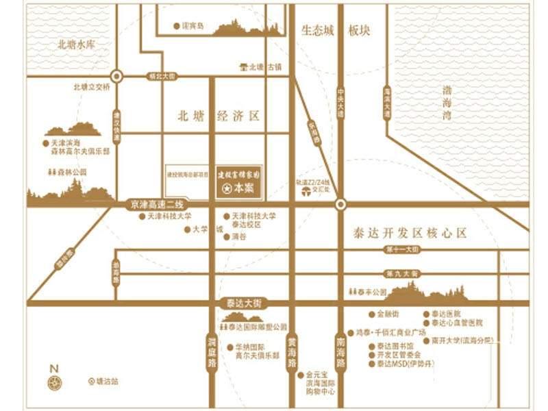 建投领海三期位置图