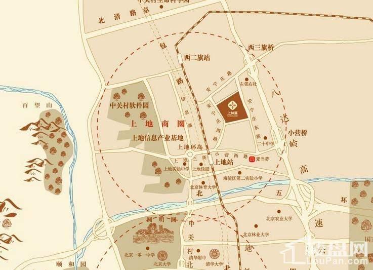 上林溪位置图