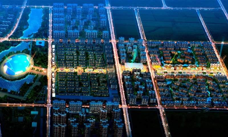 米立方商业步行街实景图
