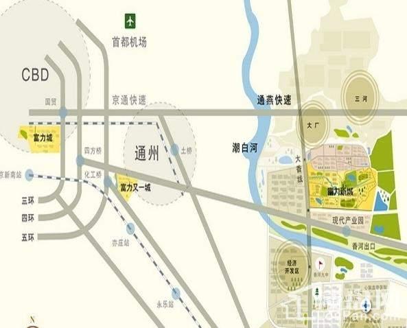 富丽新城位置图