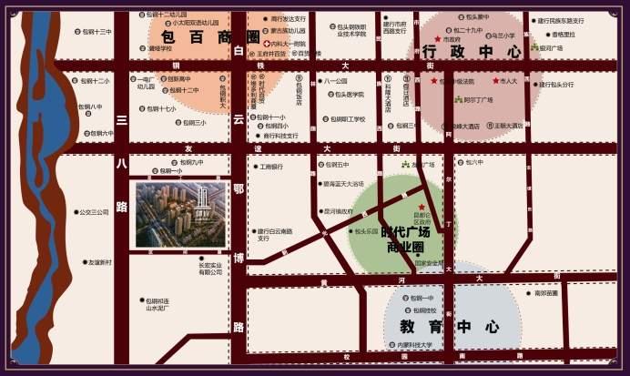 鑫海花园•御府位置图