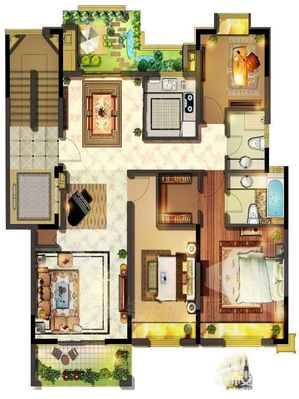 5#123-142平洋房七层