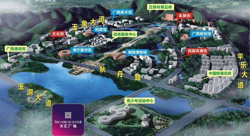 合景天汇广场位置图