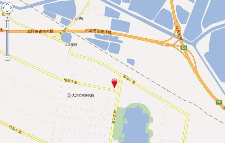 海泰渤龙湾位置图