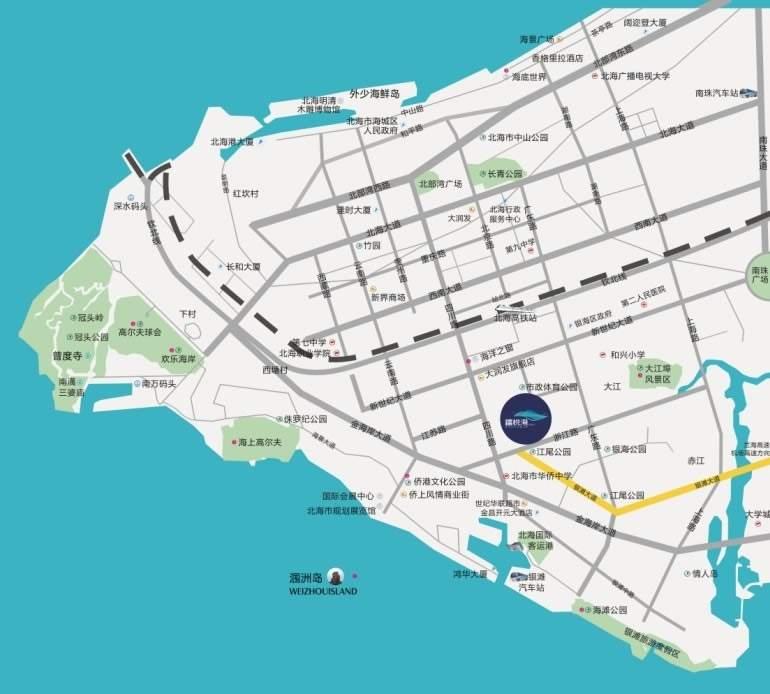 兆信禧悦湾 位置图