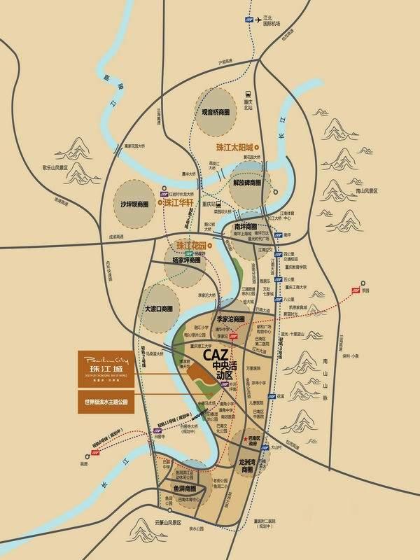 珠江城位置图