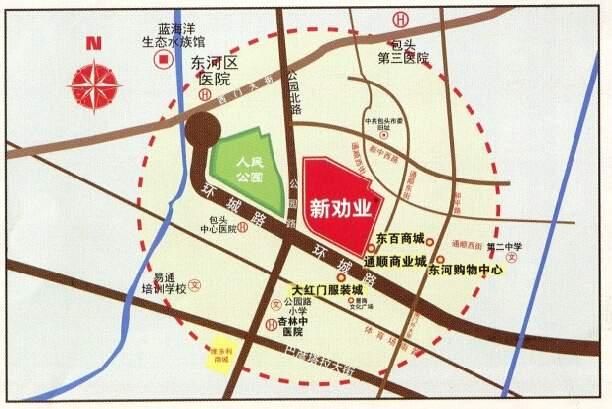 新劝业城位置图