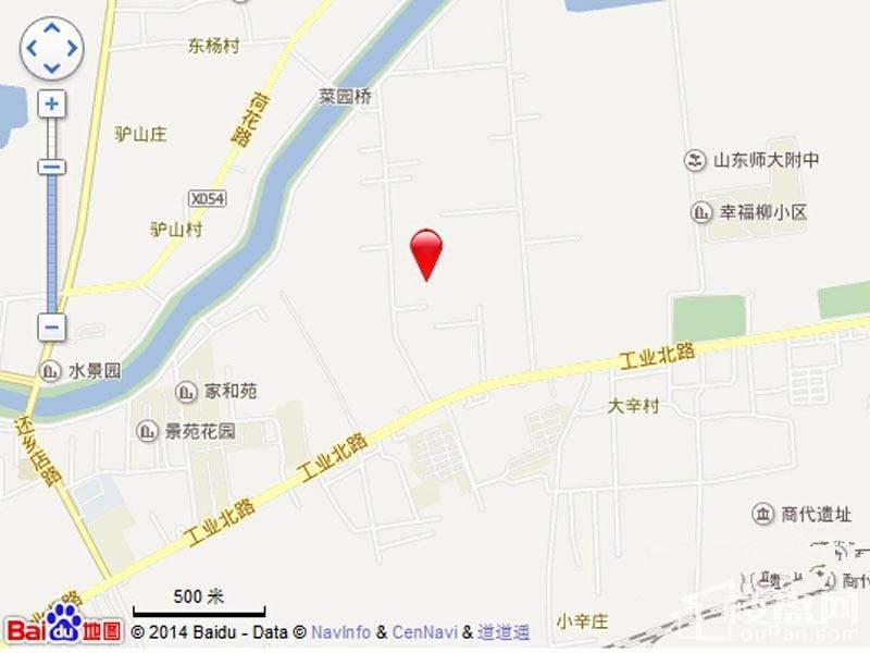 祥泰城位置图