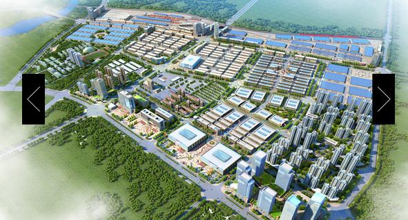 新合作国际商贸城效果图