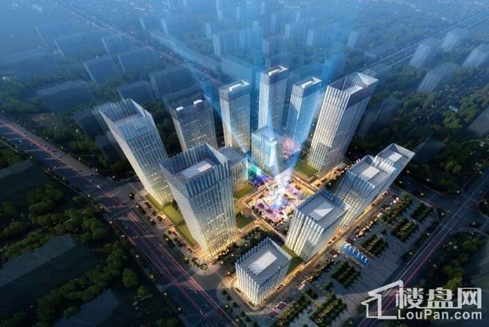 绿地环球文化金融城效果图