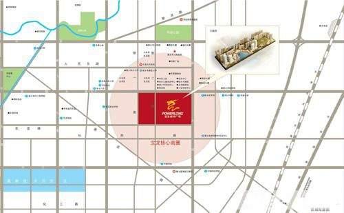 宝龙城市广场位置图