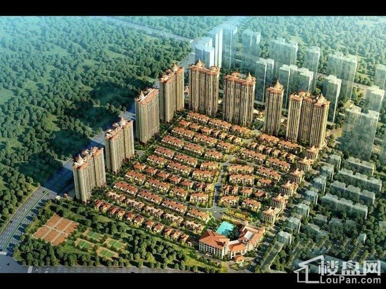 绿湖国际城效果图