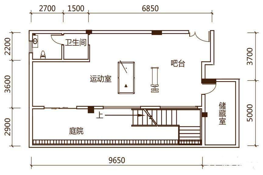 S2户型(负一层)