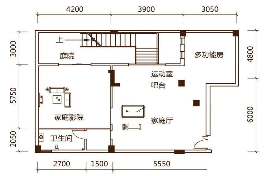 S1户型(负一层)