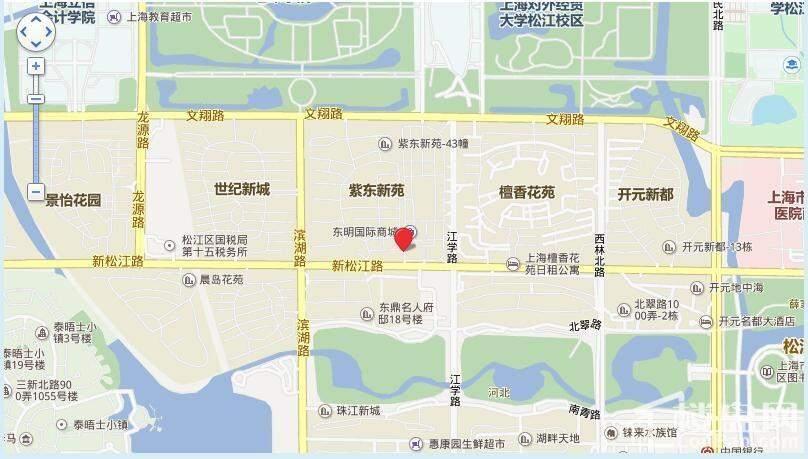 绿庭悦公馆位置图