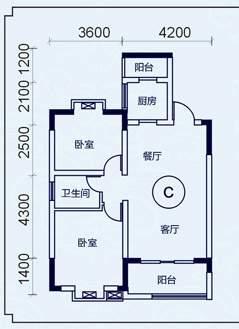 西源鑫大厦户型图