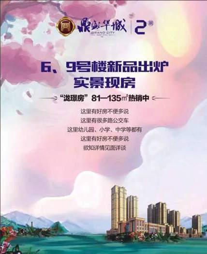 """鼎盛华城新品上市 """"泷璟房""""火爆销售中!"""