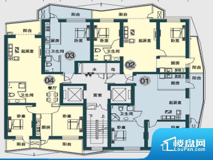 方远·滨江国际户型图