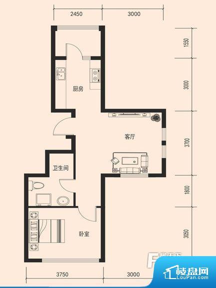 鑫泉·金岗湾户型图