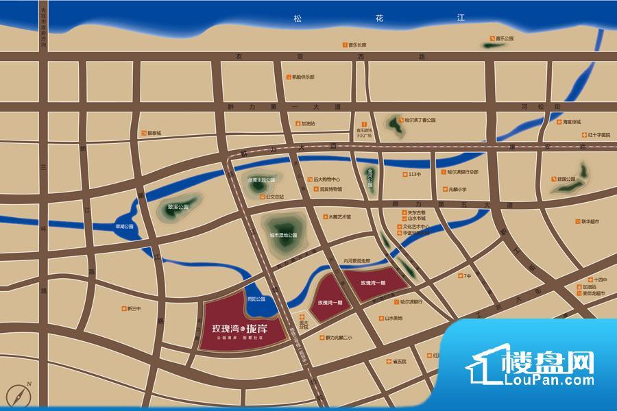 玫瑰湾·珑岸(别墅)效果图