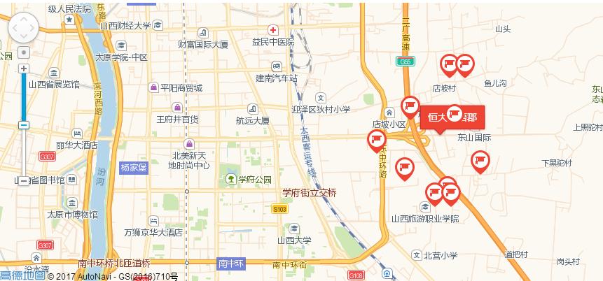 恒大林语郡位置图