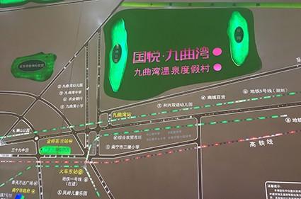 国悦九曲湾位置图