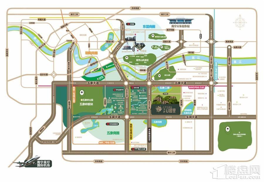 万科公园里位置图