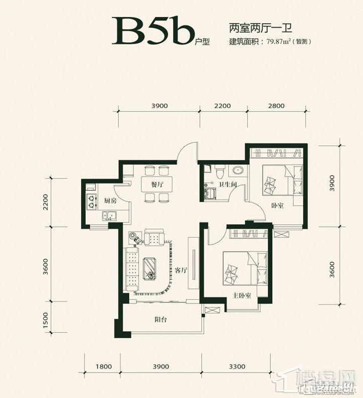 B5b户型