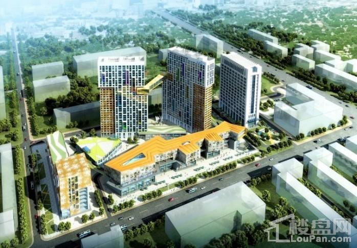 黑龙江现代文化艺术产业园效果图
