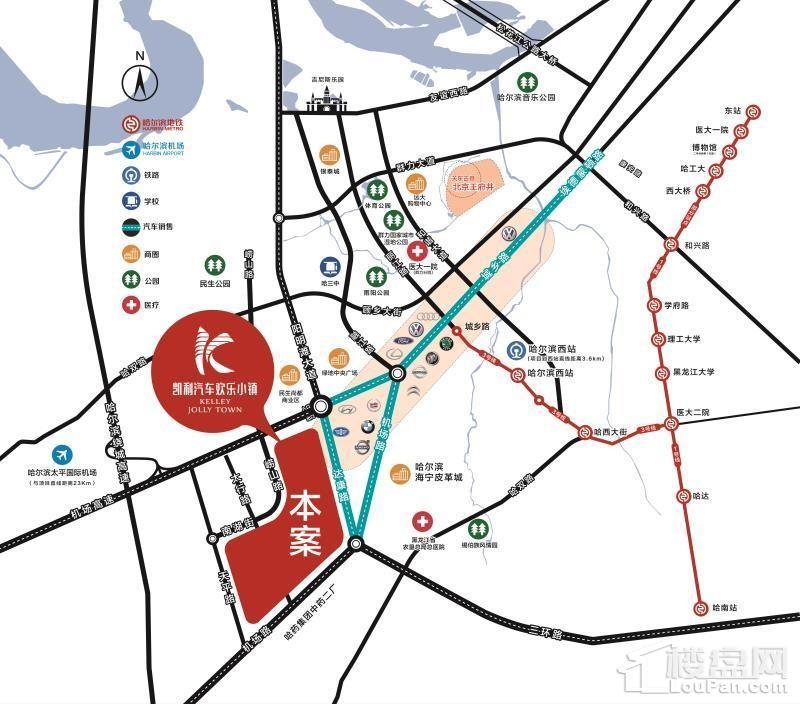 凯利汽车欢乐广场位置图