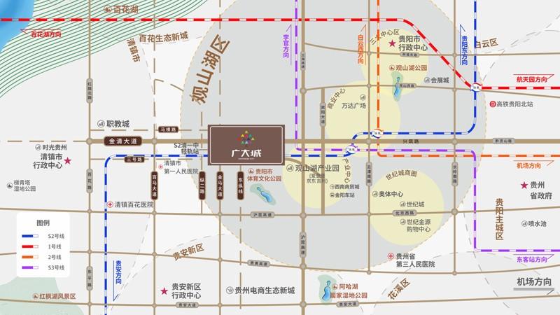 广大城位置图