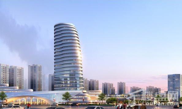 北海中港城一期效果图
