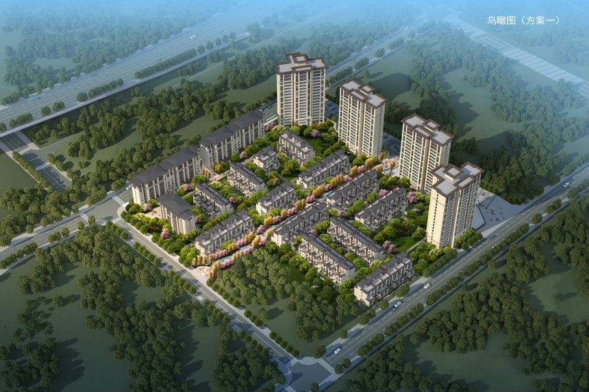 北京城建龙樾生态城效果图