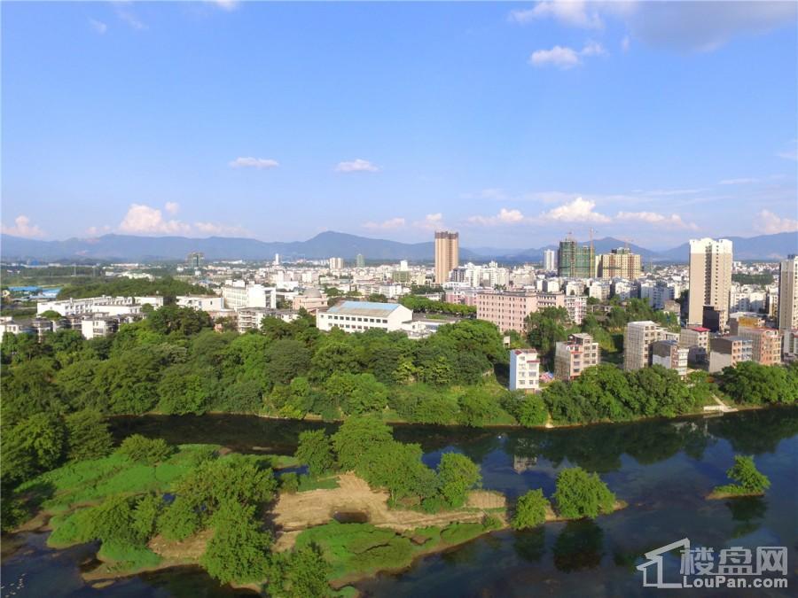 桂林盘古国际度假区实景图