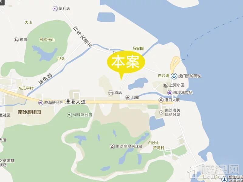 碧桂园玺悦位置图