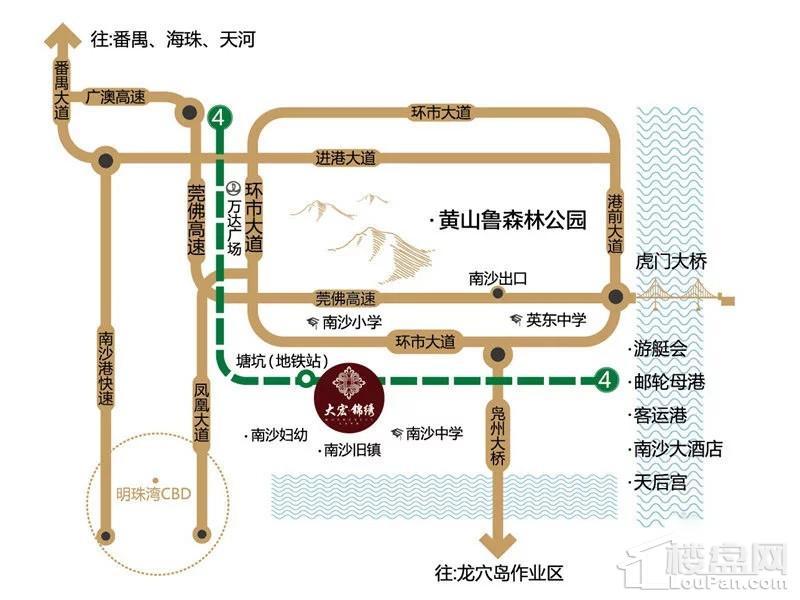 大宏锦绣位置图