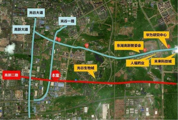 光谷悦城位置图