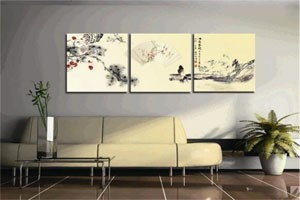 客厅装饰教你如何选购家居装饰画