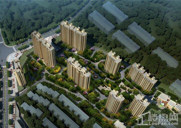 中建东湖锦城效果图
