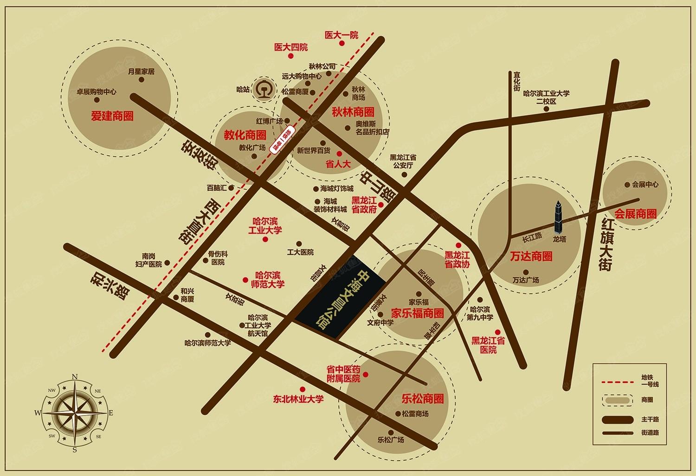中海文昌公馆位置图